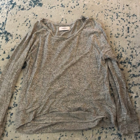 soulcycle Sweaters - SoulCycle grey lightweight sweater sz m